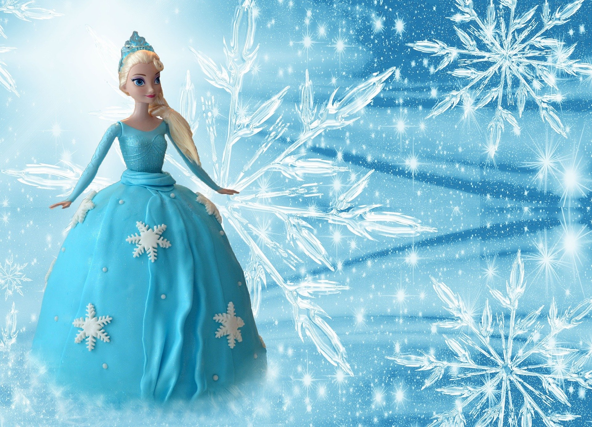 Party for a Princess Package - Deluxe Frozen Party